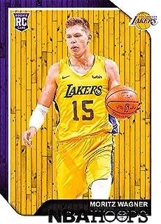 2018-19 Panini Hoops #249 Moritz Wagner Los Angeles Lakers Basketball Card