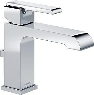Delta Faucet Ara Single-Handle Bathroom Faucet with Metal Drain Assembly, Chrome 567LF-MPU