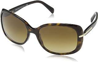 Prada SPR08O 2AU6S1 Womens Sunglasses - Size: 57--17--130 - Color: Havana