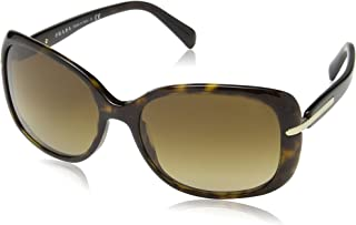Prada SPR 08O 2AU-6S1 Havana Sunglasses SPR08O - 57mm