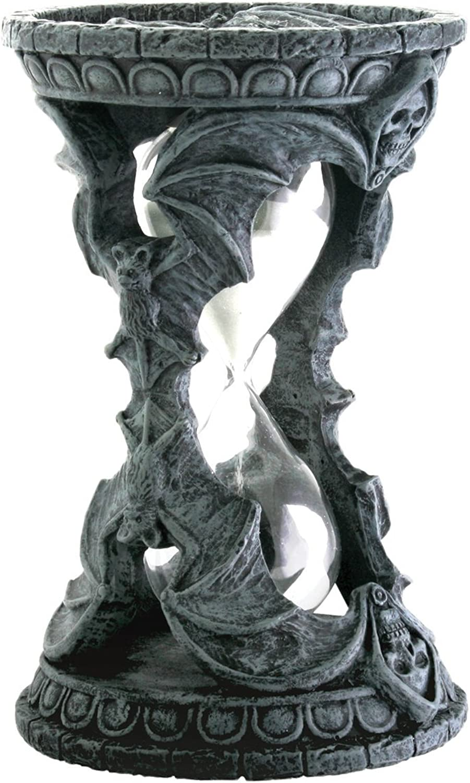 Tienda de moda y compras online. Summit Gothic Halloween Skull Bat Bat Bat Sand Timer Decoration Figurine Collectible by  tienda de descuento