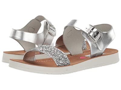 Steve Madden Kids Jprobler (Little Kid/Big Kid) (Silver Glitter) Girls Shoes
