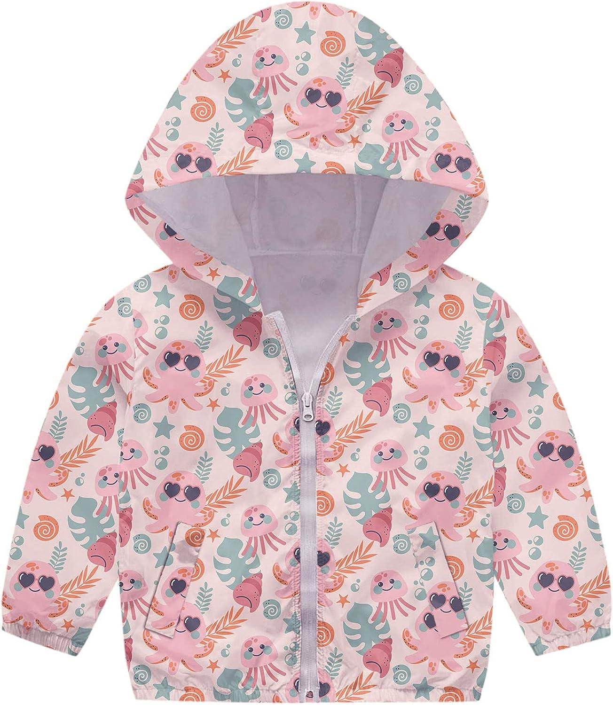 Baby Coat Direct store Girls Winter Fall Coats Hooded Zipper Cartoon free shipping Print J