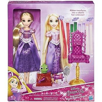 Amazon.es: Disney - Muñeca Princesa Rapunzel con Falda mágica ...