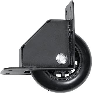 Reliable Hardware Company RH-9024BK-A Recessed Tilt Caster Housing, Medium Size, 2.75-Inch Diameter Wheel, Black