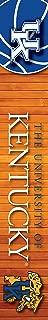 KENTUCKY WILDCATS MAILBOX POST COVER-UNIVERSITY OF KENTUCKY MAILBOX POST COVER