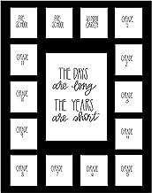 Tapete para fotos de dias escolares da Hope Woodwork com várias aberturas – Colagem de fotos de anos escolares – Os dias s...