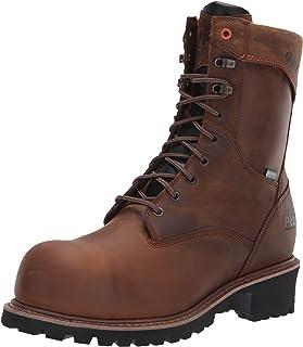 """Timberland PRO Men's Buzzsaw 9"""" Composite Toe Waterproof Logger Industrial Boot"""