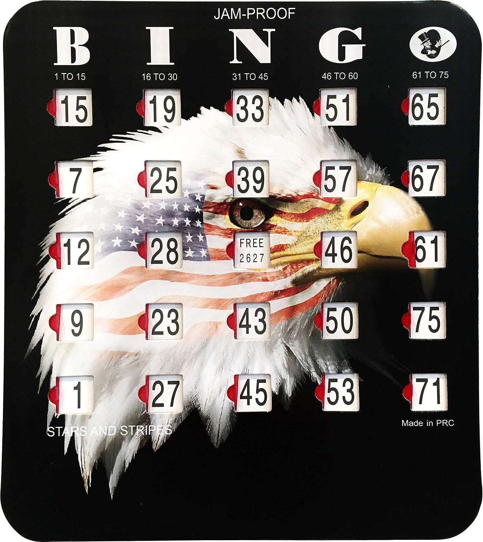 MR CHIPS Jam-Proof Fingertip At the price Bingo shop Cards Sliding Windows - with