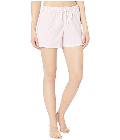 LAUREN Ralph Lauren Cotton Polyester Jersey Separate Boxer Shorts (Pink Stripe) Women