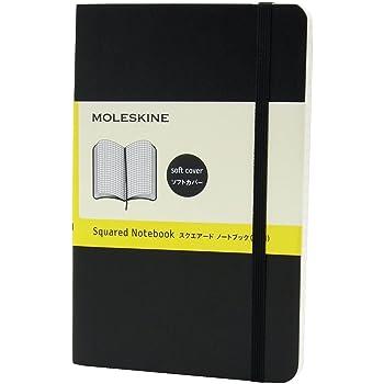 モレスキン ノート クラシック ソフト 方眼 ポケット QP612 黒