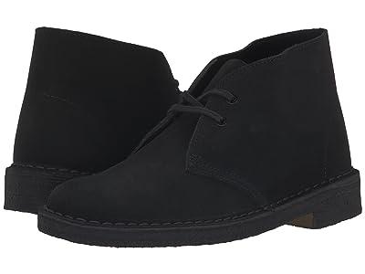 Clarks Desert Boot (Black) Women