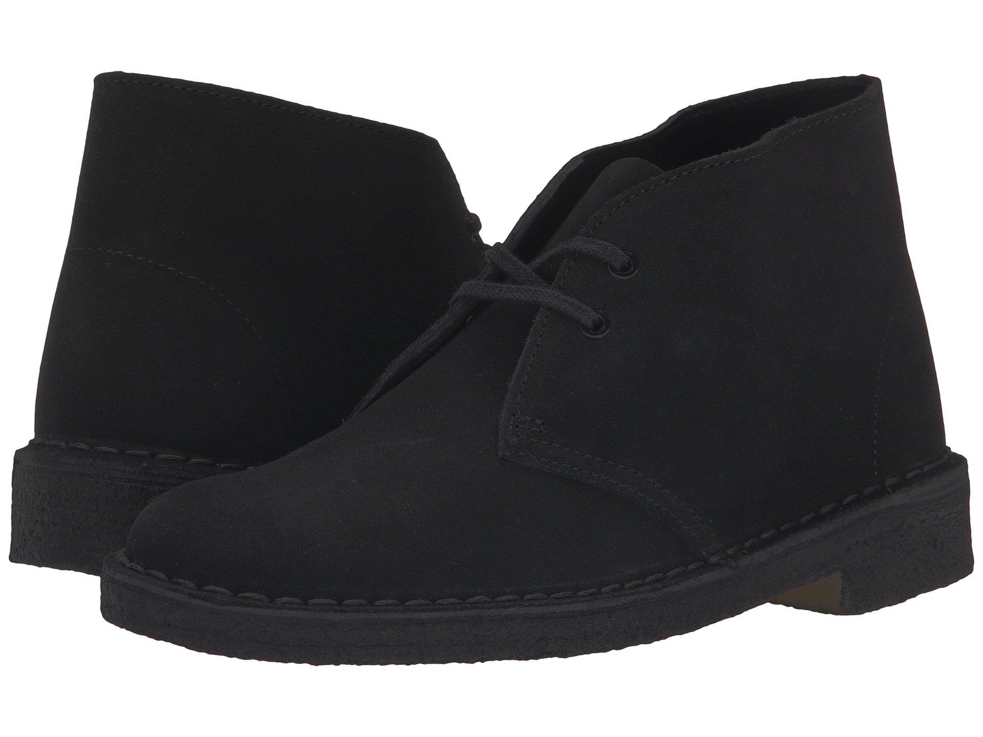 Clarks Black Clarks Desert Boot Desert Clarks Desert Black Boot 1n4qU
