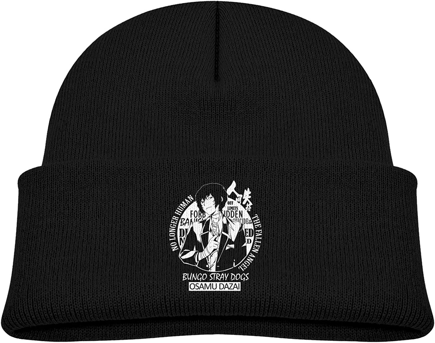 Yamike Dazai Kids Knitted Hat Thick Soft Warm Slouchy Knit Hat for Toddlers Boys /& Girl Winter Soft Ski Cap Black