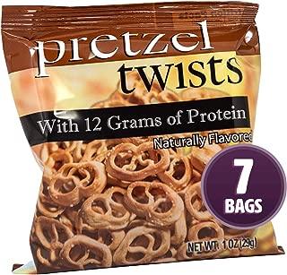 pretzel twists with 12 grams of protein