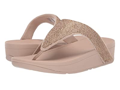 FitFlop Lottie Shimmer Crystal (Artisan Gold/Frappe) Women