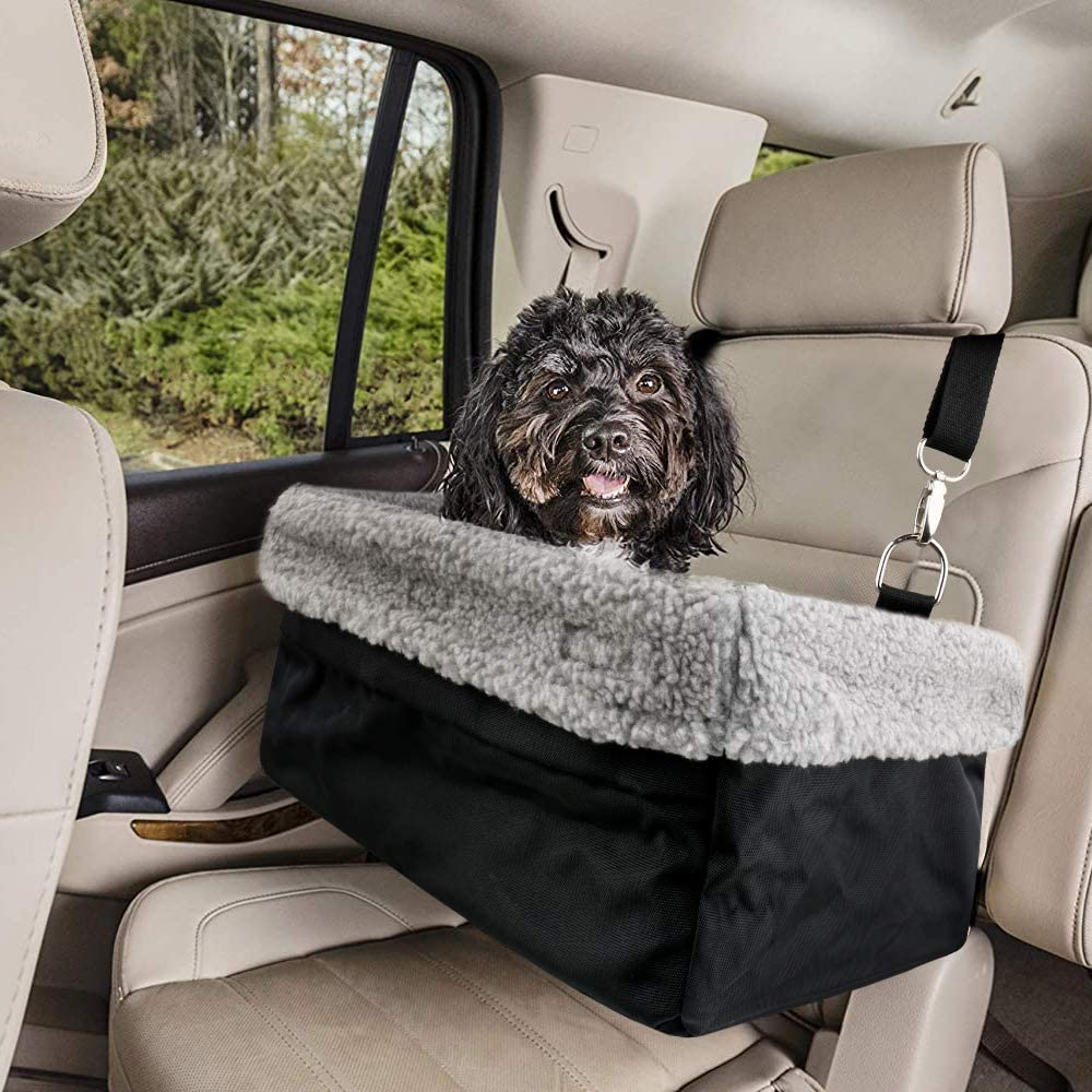 Devoted Doggy Deluxe Tulsa Mall Dog Car Booster Fits up Seat We OFFer at cheap prices Pets