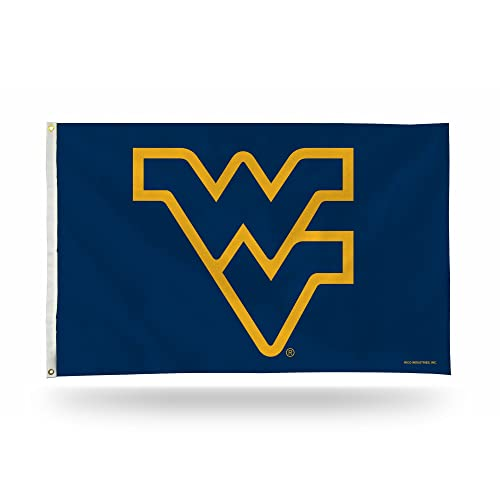 Rico Industries NCAA 3 Foot By 5 Single Sided Banner Flag With Grommets