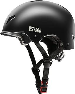 INNAMOTO Skateboard Helmet - دنده مقاوم در برابر ضربه / دنده محافظ سر برای اسكوتر اسكیت بردینگ Roller Skate Skating Inline Skating Longboard BMX MTB برای كودكان ، جوانان