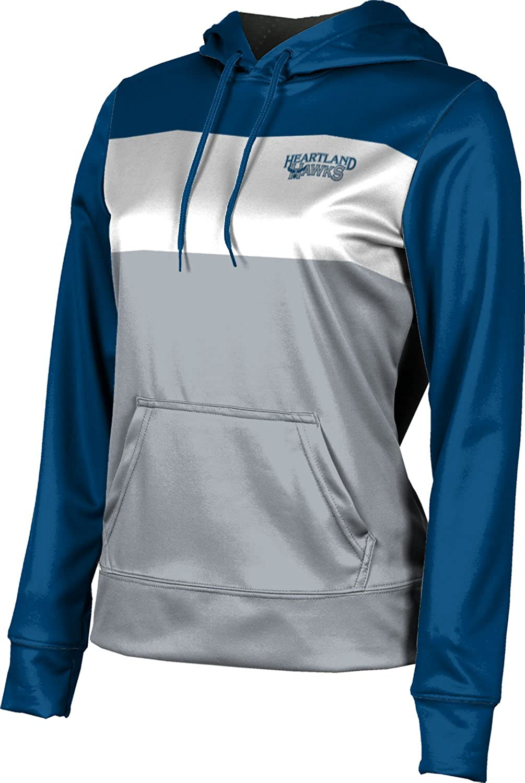 Heartland Community College Girls' Pullover Hoodie, School Spirit Sweatshirt (Prime)