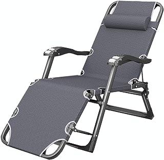 LLLD Outdoor Zero Gravity Recliner Chair Textilene Fabrics Patio Lounge Chair Outdoor Folding Pool Beach Camping Lawn Chai...
