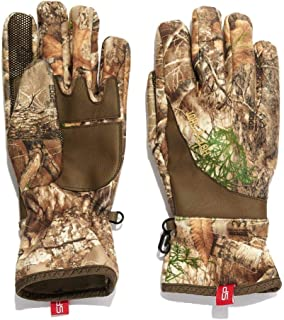 HOT SHOT Men's Camo Lava Flow Stormproof Glove – Realtree Edge Outdoor Hunting Camouflage