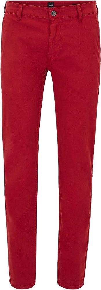 Hugo boss schino/slim d, pantaloni per uomo,97% cotone, 3% elastan,cotone elasticizzato 50379152R