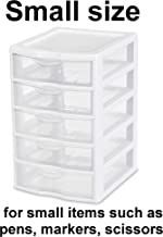 Best 5 drawer plastic cabinet Reviews