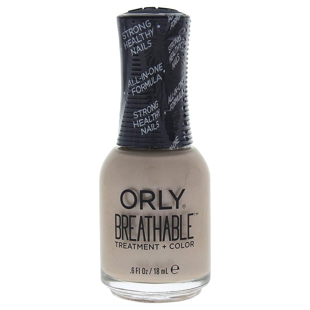 プロペラ魚転用Orly Breathable Treatment + Color Nail Lacquer - Heaven Sent - 0.6oz / 18ml