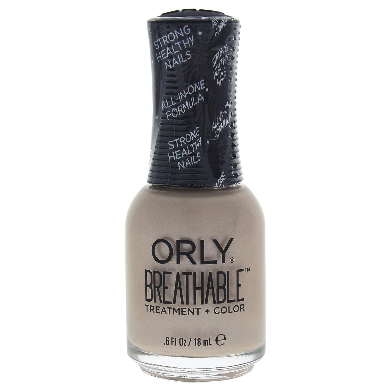成熟した群れ永遠のOrly Breathable Treatment + Color Nail Lacquer - Heaven Sent - 0.6oz / 18ml