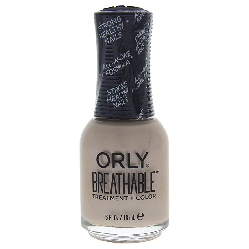 先見の明インシュレータメールOrly Breathable Treatment + Color Nail Lacquer - Heaven Sent - 0.6oz / 18ml