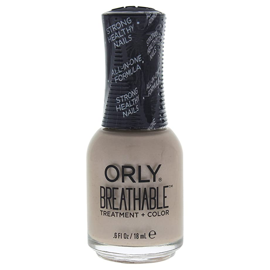 モート姿勢楽しむOrly Breathable Treatment + Color Nail Lacquer - Heaven Sent - 0.6oz / 18ml