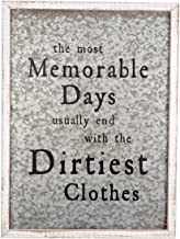 Foreside FWAD03986 Dirty Clothes Wall Art