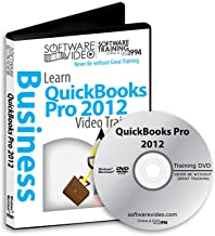 Software Video Learn Intuit QuickBooks Pro 2012 Training Sale 60% Off training tutorials DVD Over 8 Hours of Video Training
