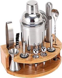 Scra AC Cocktail Shaker Set, Rvs Bar Accessoires Familie Bartending Combinatie Tool (Grootte: 750ml) (Size : 350ml)