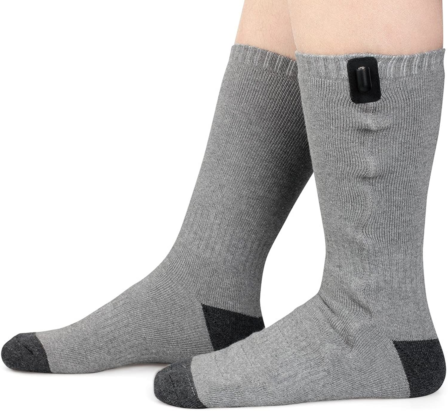 Prosmart Heated Socks with USB Connector Washable Foot Warmer(Unisex)