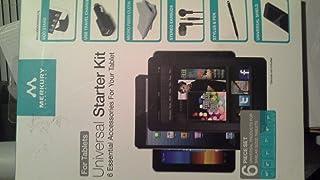 Merkury Universal Tablet Starter kit w/ 6 Essential Accessories - MI-UBTB6-88W