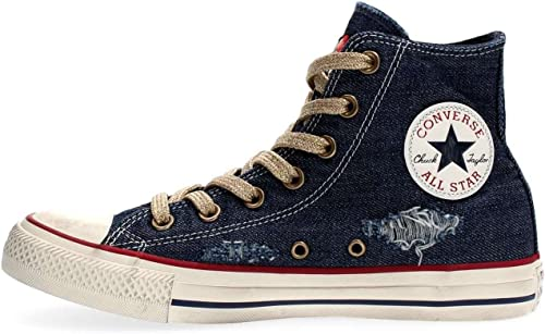 Converse 156917 CT AS Hi Denim LTD paniers paniers Femme  dessins exclusifs