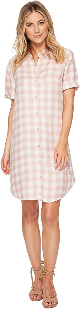 Cicely Plaid Shirtdress