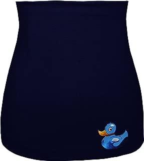 modisches Accessoire Nierenw/ärmer schwarz Uni Frau XS Shirt Verl/ängerer Jersey Belldessa 3 in 1