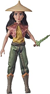 Disney Raya and the Last Dragon Raya's Adventure Styles, Fashion Doll with Clothes, Shoes, and Sword Accessory, Toy for Ki...