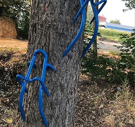 ZLQF AntideslizanteTrepar árboles Zapatos De Uñas Crampones ...