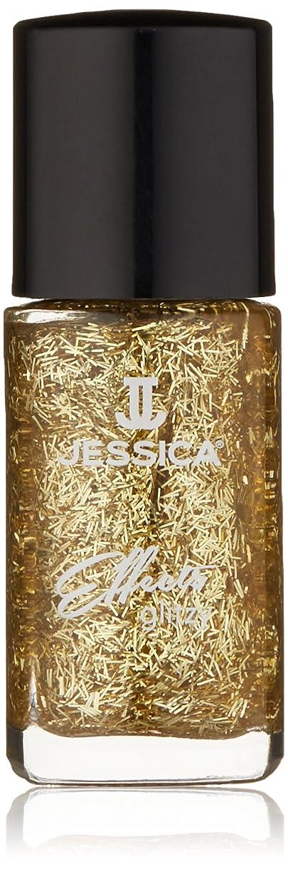 蒸暖かさ花婿Jessica Effects Nail Lacquer - Gold Digger - 15ml / 0.5oz