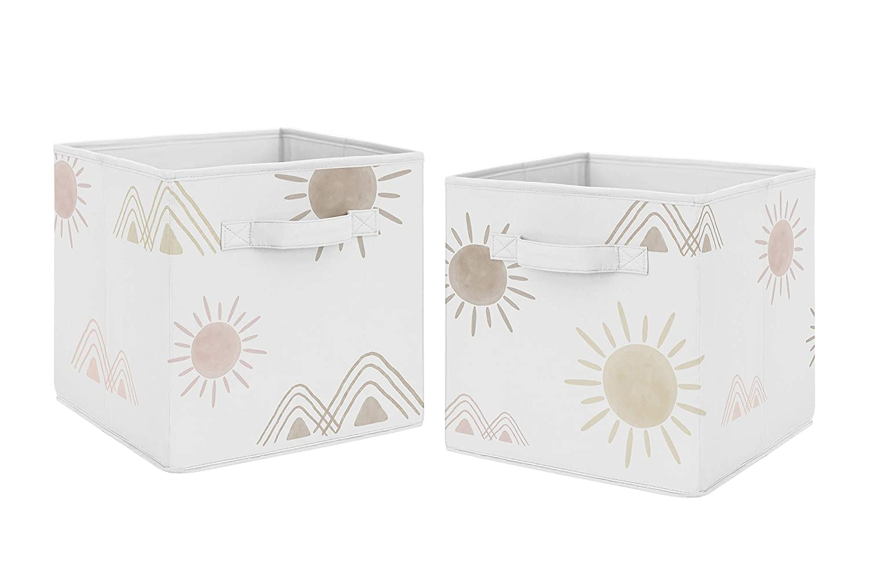 Sweet Jojo Overseas parallel import regular item Designs Boho Desert Cube Fabric Storage Foldable Sun Super popular specialty store