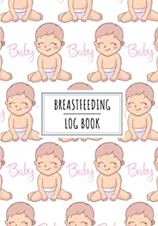 Breastfeeding Log Book: Breast Baby Feeding Journal for Maternity Mom | Keep Track and Review All Details Your Baby's Nutr...