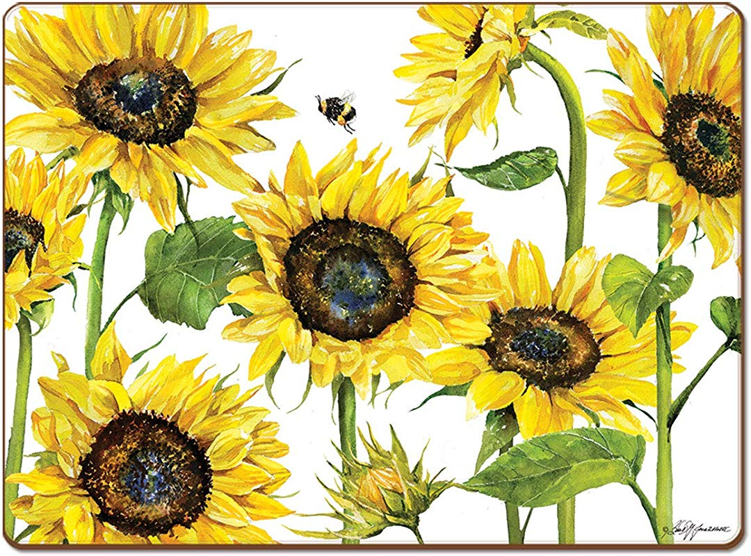 Cala Home 4 Premium Hardboard Placemats Table Mats Sunny Day