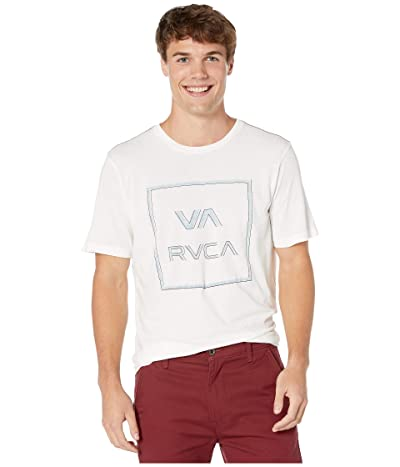 RVCA Unregistered Short Sleeve T-Shirt (Antique White) Men