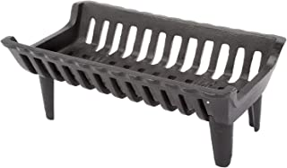 HY-C Liberty Foundry G17-4-BX Heavy-Duty Cast Iron Curved Basket Style Fireplace Grate, 17