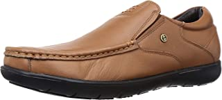 Healers (from Liberty) Men's JOHL-202 Tan Leather Loafers-9 UK/India (43 EU) (5131907166430)