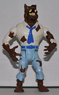 Vintage Wolfman (1984) Classic Monsters Line - Ghost Busters Replacement Figure - Classic: The Real Ghostbusters Toy Line Collectible Action Figures - Loose Out Of Package & Print (OOP)